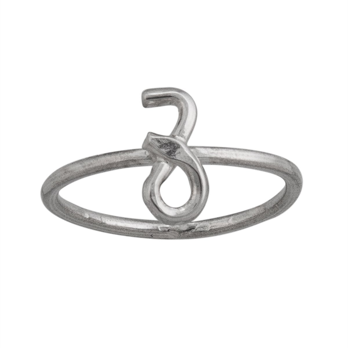 Sterling Silver Capricorn Ring | Charles Albert Jewelry