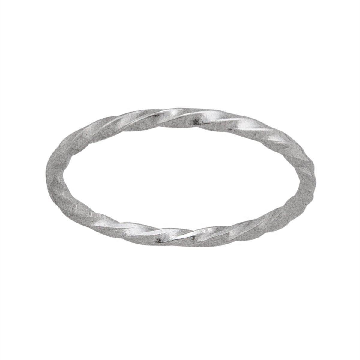 Sterling Silver Forever with a Twist Ring | Charles Albert Jewelry