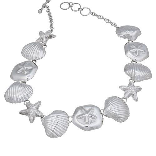 Sterling Silver Sea Life Necklace | Charles Albert Jewelry