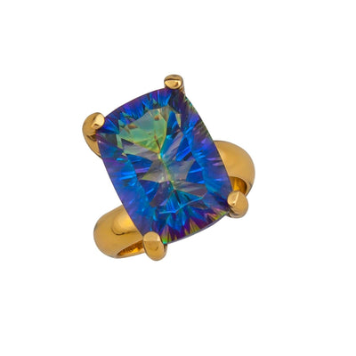 alchemia-mystic-quartz-prong-set-adjustable-ring - 4 - Charles Albert Inc