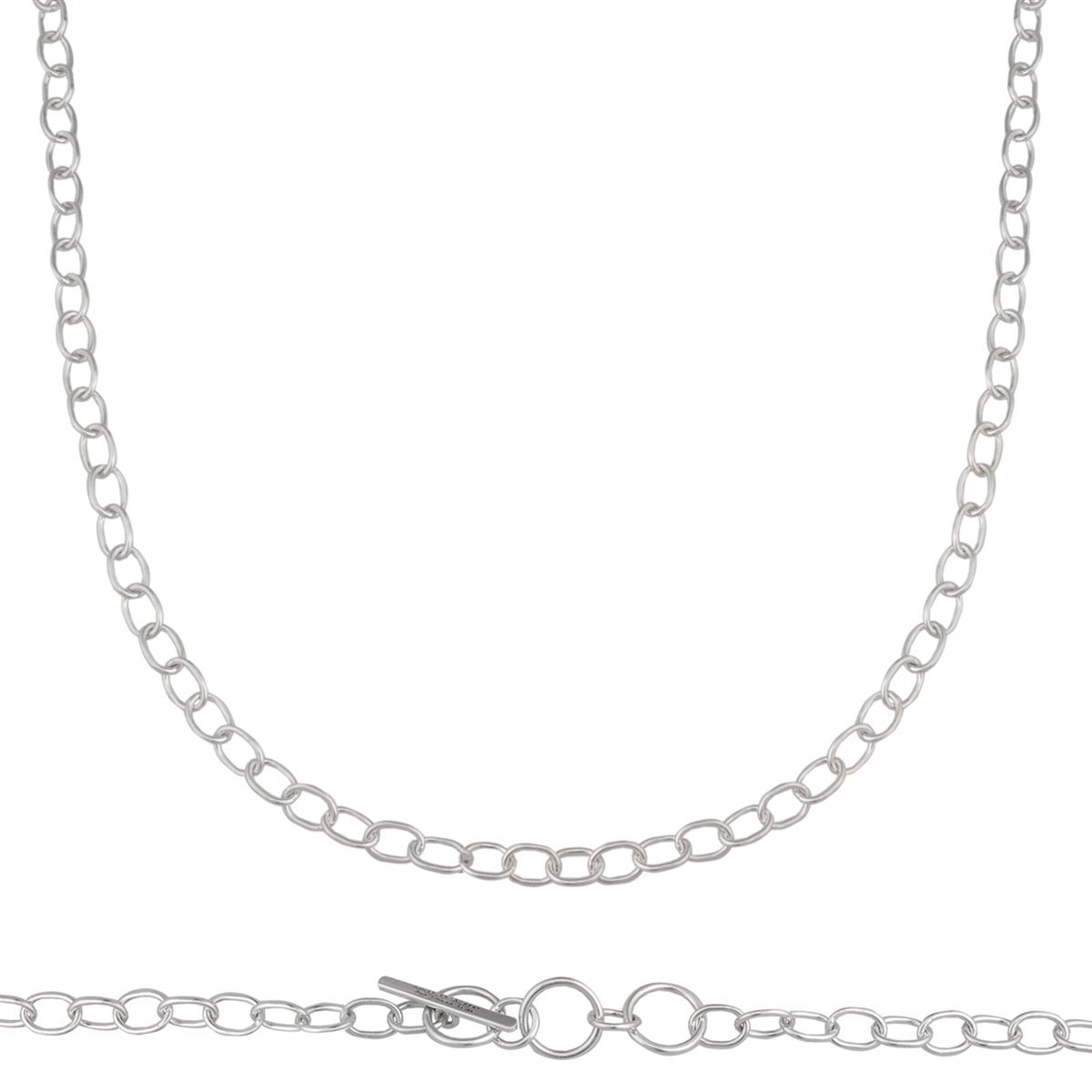 Sterling Silver Handmade Chain | Charles Albert Jewelry