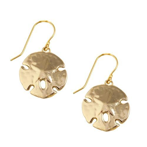 Alchemia Sand Dollar Drop Earrings | Charles Albert Jewelry