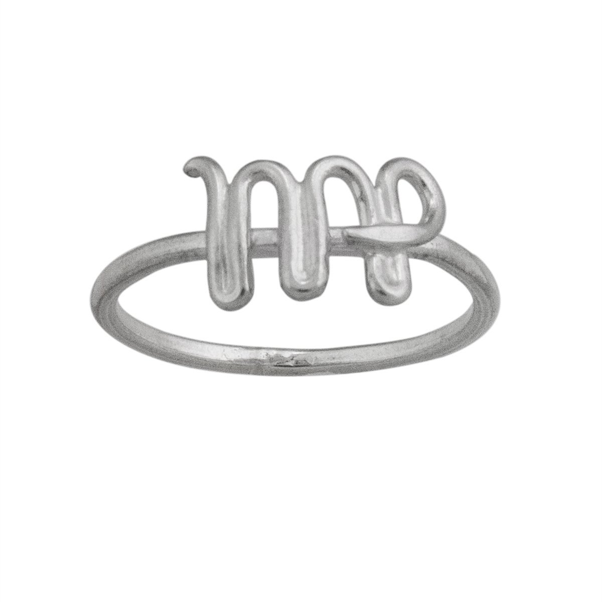 sterling-silver-virgo-ring - 1 - Charles Albert Inc