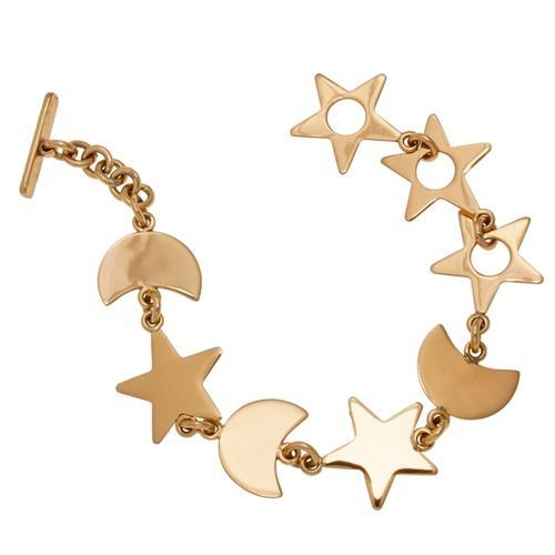 Alchemia Star and Moon Bracelet