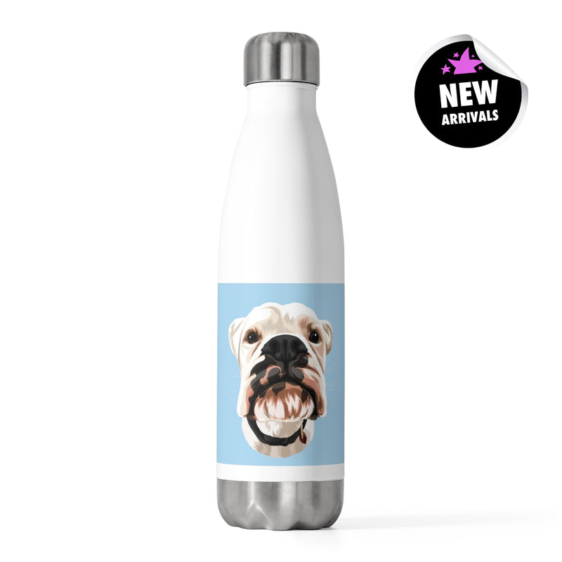 Barkly - Custom insulated bottle with your dog portrait