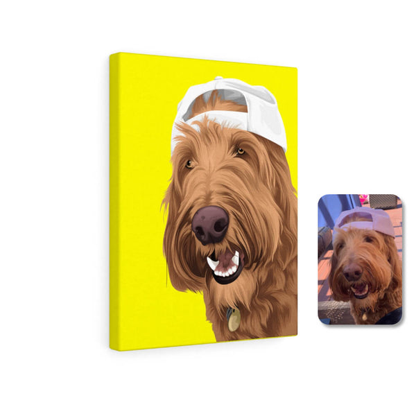 Barkly | Custom pet canvas with your dog face