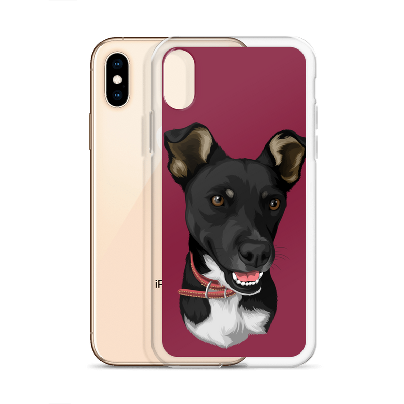 Barkly - Custom phone case with your dog face