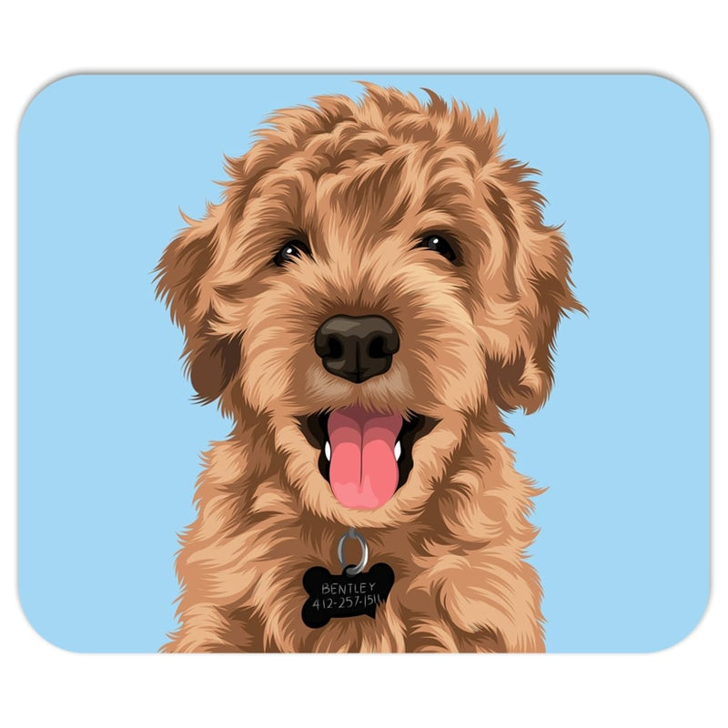 Barkly | Custom pet mousepad with your dog face
