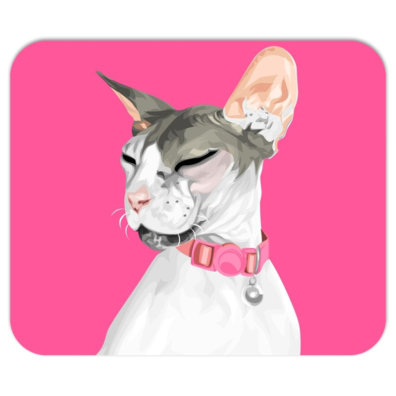Barkly | Custom pet mousepad with your cat portrait