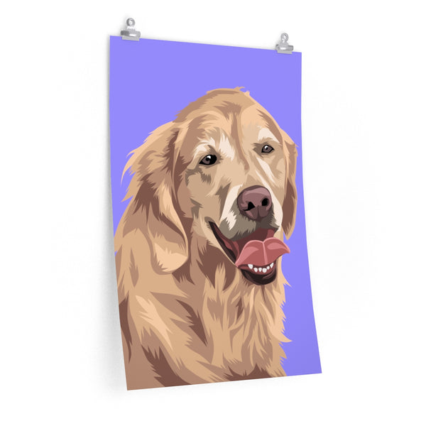 Barkly | Custom pet poster with your dog portrait