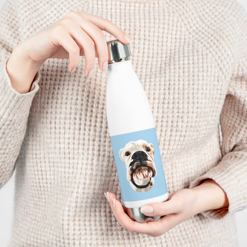 Barkly - Custom pet insulated bottle with portrait