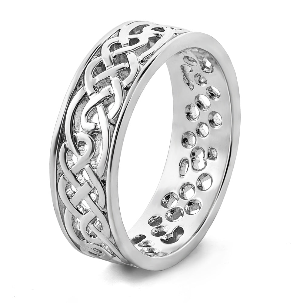 This is a picture of Mens Celtic Wedding Rings MS-WED31