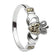 Sterling Silver Marcasite Claddagh Ring - ANU3001