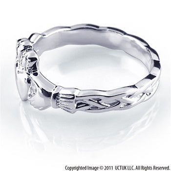 Claddagh Rings RS337 Side View