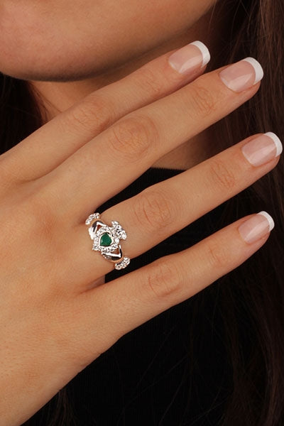 Claddagh Rings RS971 Close Up