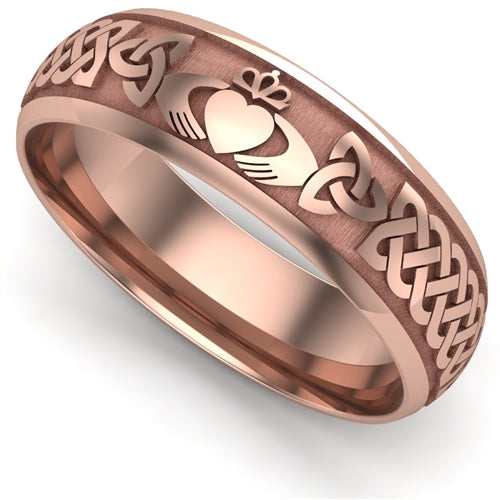 Claddagh Wedding Ring UCL1-14R6LIGHT