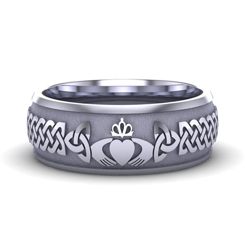 Claddagh Wedding Ring UCL1-14W8M