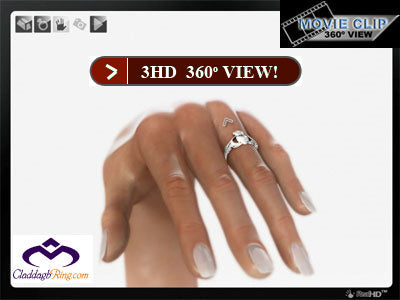 Claddagh Rings BSR-7