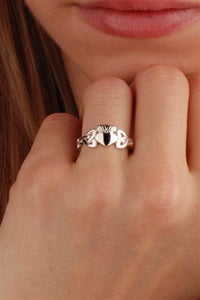 Ladies Claddagh Ring CLAD36 ZOOM