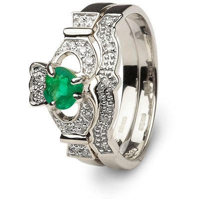 Claddagh Engagement Set 14L68WED 14L69WD