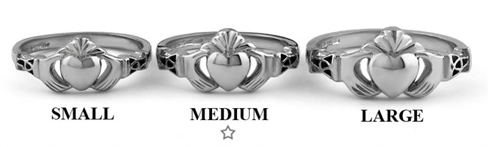 Claddagh Ring BCLAD107 Group