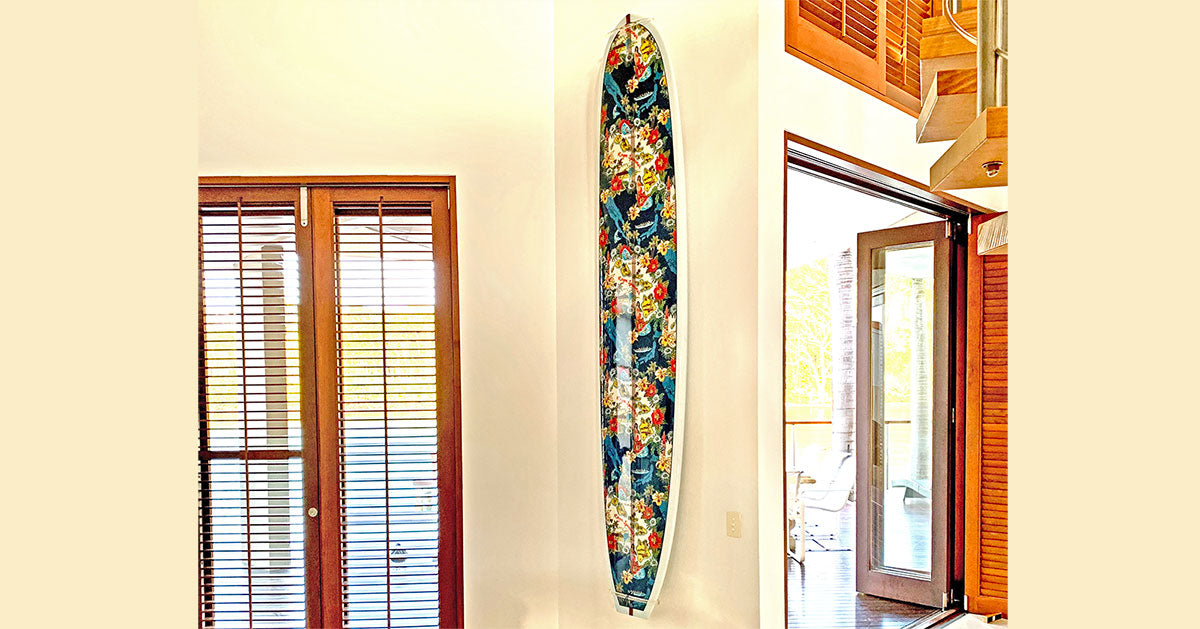 Hobie & Reyn Spooner Surfboard Collaboration - Display by Ghost Racks
