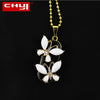 Crystal Butterfly Pendant USB Flash Drive