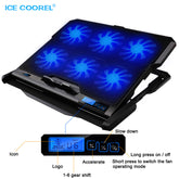 ICE COOREL 6 Speed Adjustable Laptop Cooling Pad