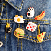 Bomb Food Enamel Pin Set