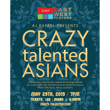 Crazy Talented Asians - May 29th 7pm Ticket