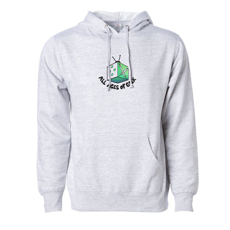 All Ages Of Geek TV - Dice Hoodie