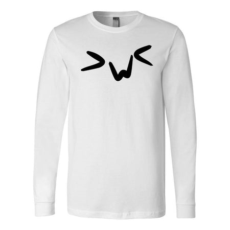 Gacha Wow - Emoticon Long Sleeve Tee