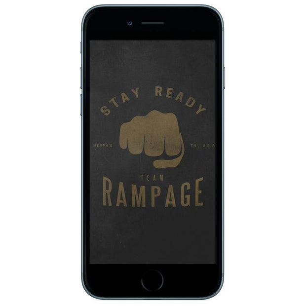 Rampage - Fist Wallpaper