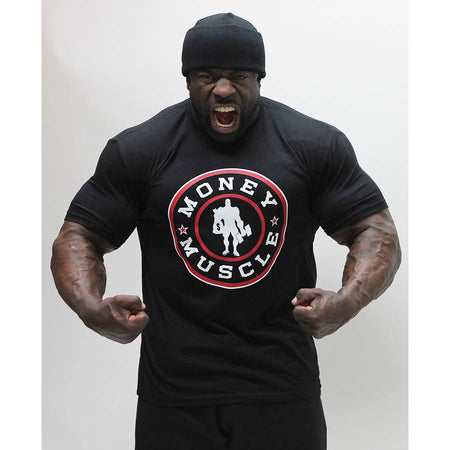 Money and Muscle - Tee - Black