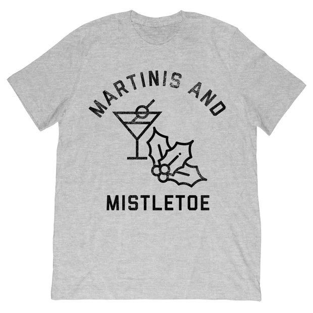 Martinis and Mistletoe T-Shirt