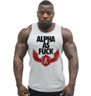 Alpha As Fuck Tank