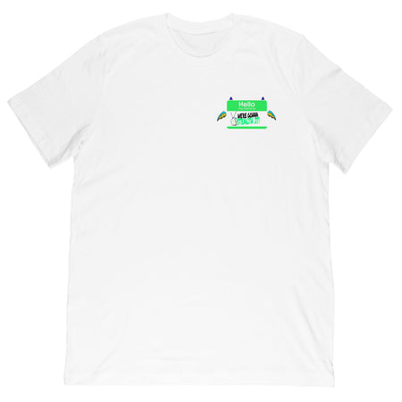 All Ages Of Geek TV - Name Tag Tee