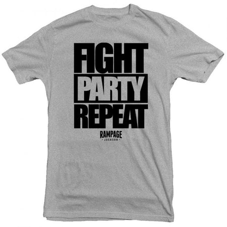 Rampage - Fight Party Repeat Tee