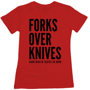 Forks Over Knives - Stack Women's Tee
