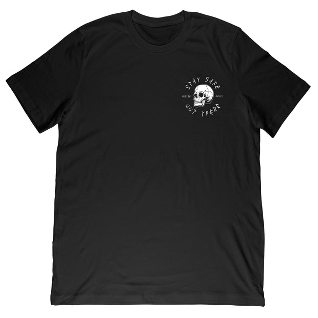 Mr. Davis - Stay Safe Skull Tee