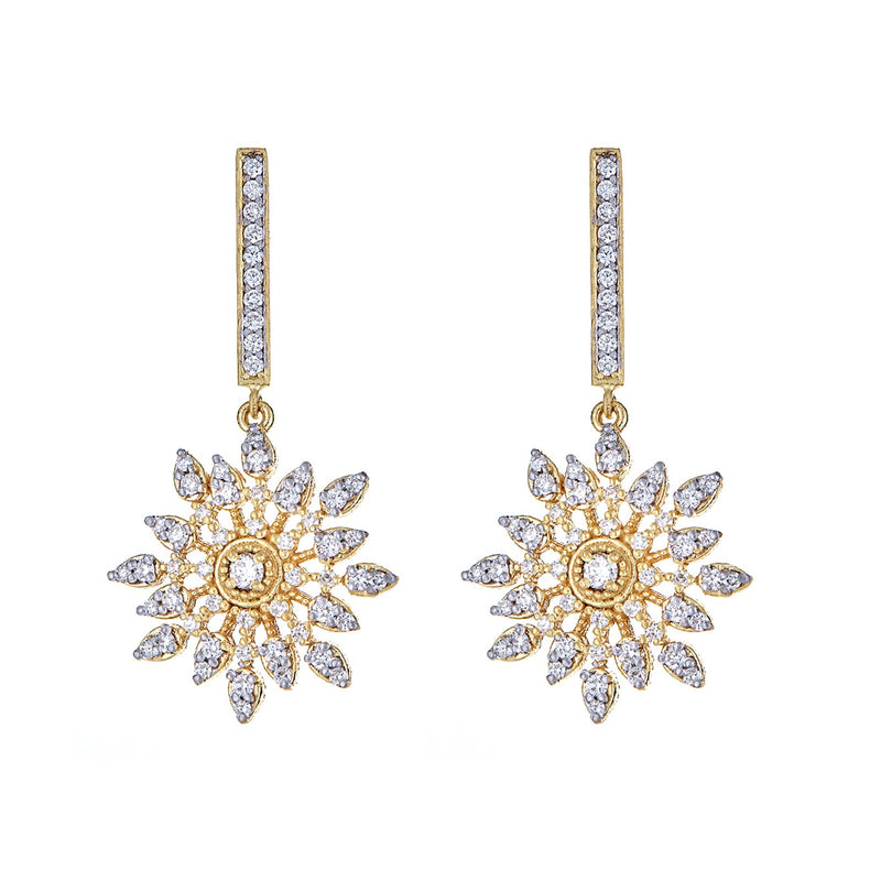 Diamond Celestial Earrings