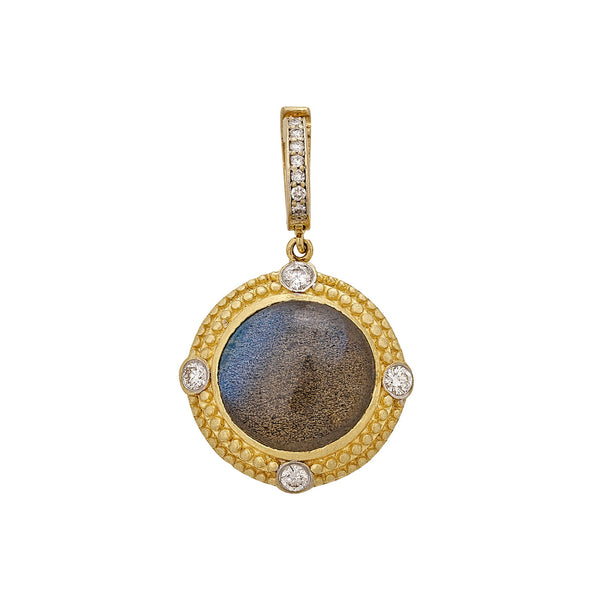 Tanya Farah Fine Jewelry | Labradorite Granule Diamond Enhancer