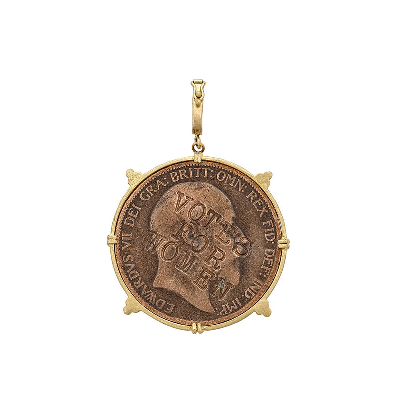 Tanya Farah Fine Jewelry | Suffragette Replica Coin Bezel Enhancer