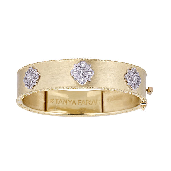 Diamond Cloud Bangle
