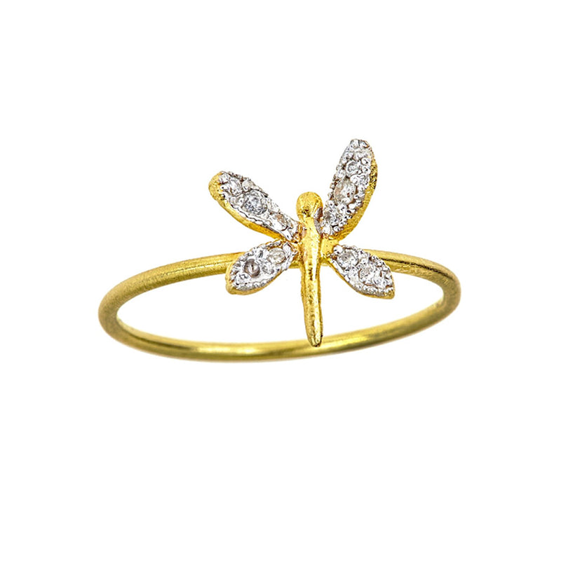 Tanya Farah Fine Jewelry | Diamond Dragonfly Ring