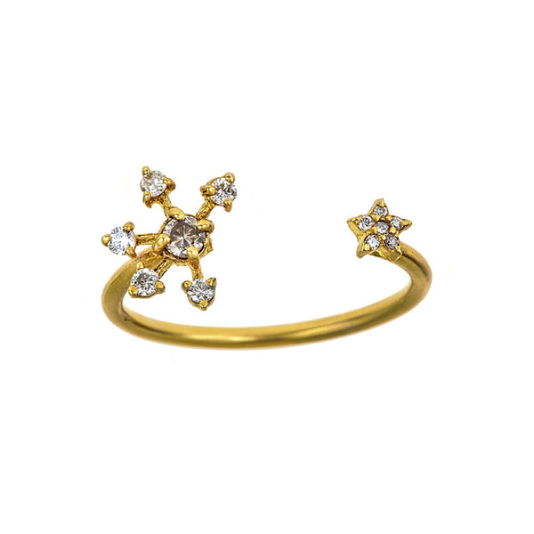 Tanya Farah Fine Jewelry | Diamond Snowstar Ring