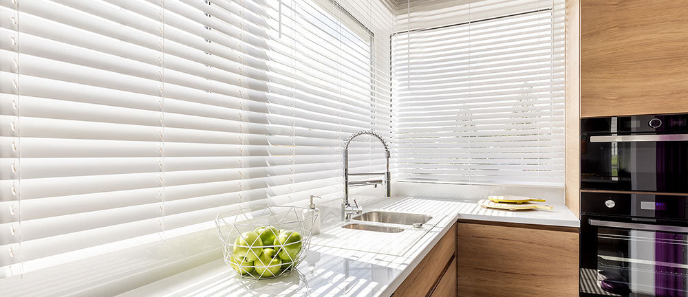 2 Inch Faux Wood Blinds Custom Size Available Chicology