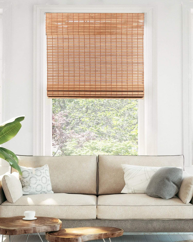 Chicology Roman Shades Cordless | Bamboo | Roman Shades | Squirrel
