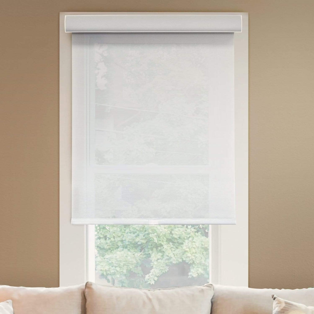 "Chicology Roller Shades Magnolia / 20""W X 72""H Cordless Roller Shades, Magnolia RSDM2072"