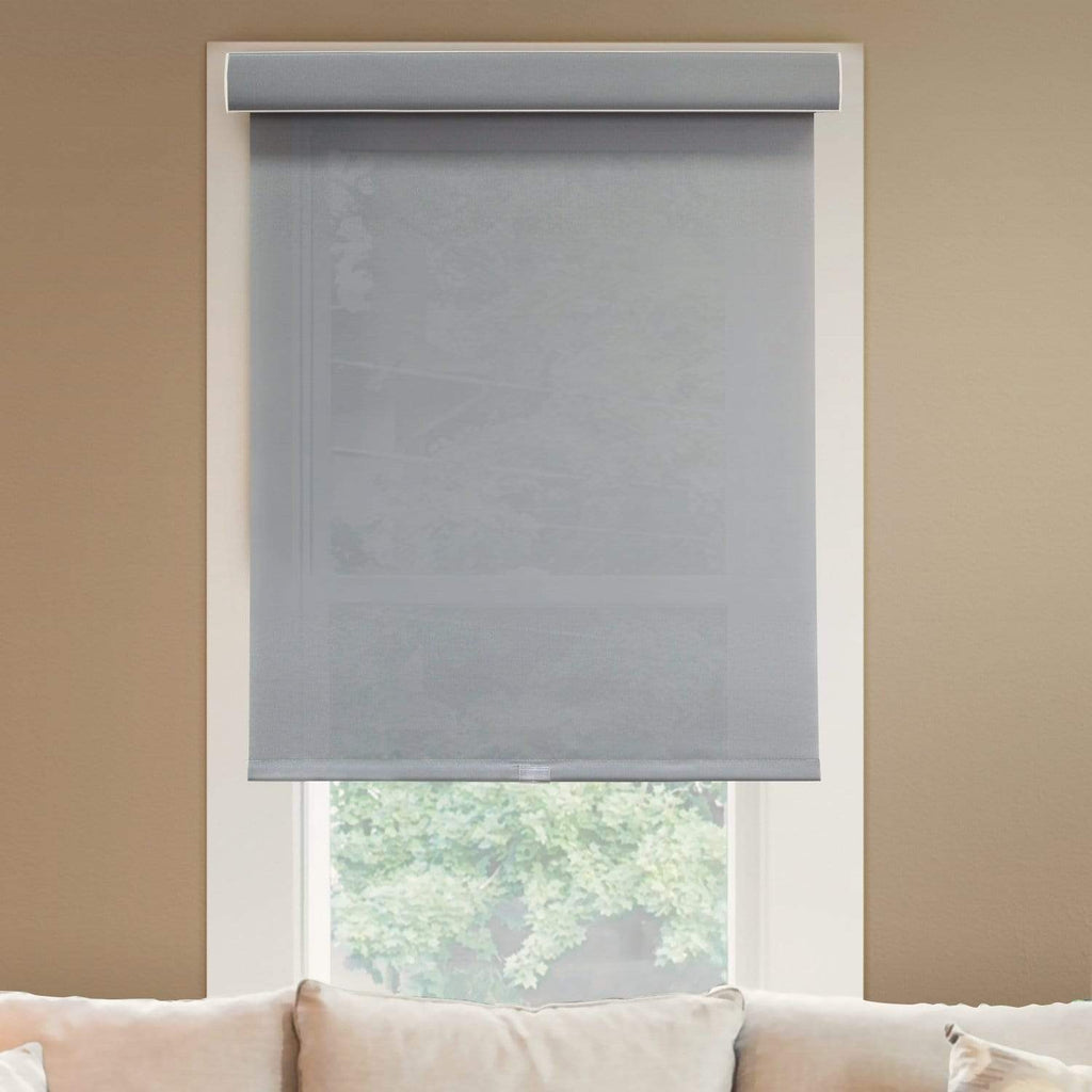 "Chicology Roller Shades Pebble / 20""W X 72""H Cordless Roller Shades, Pebble RSDP2072"